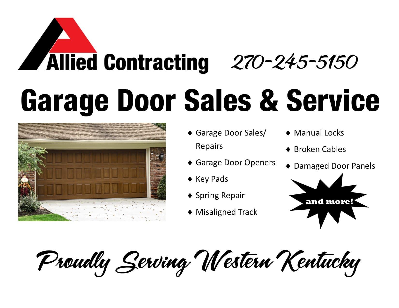 Allied Garage Door Sales & Service